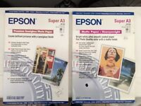 Epson A3 Photo Paper