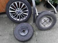 17ich New Ford Alloy tyre and Two new Trailer tyres