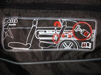AUDI GENUINE SECURITY BAG FOR TRANSPORTING SKIS