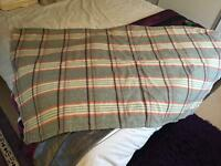 3 Welsh carthen blankets
