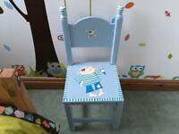 Wooden child's Chair-Pirate design