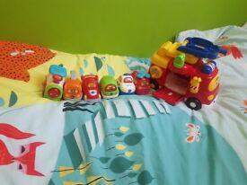 Toot Toot Vetch kids bundle of toys