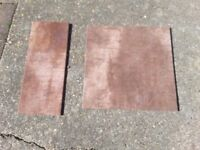 Beautuful Chocolate Brown Floor Tiles