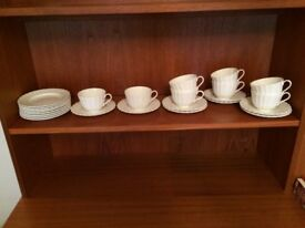 simplistically stunning Royal Worcester Warmstey tea set pieces
