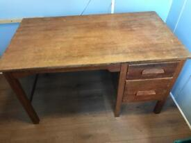 Vintage/retro schoolteachers desk