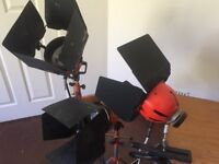 Redhead broadcast film video location-studio lighting kit