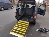 2009 Peugeot partner wheelchair accessible vehicle disability car 1.6 hdi diesel