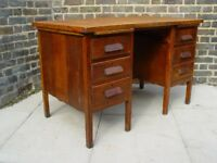 FREE DELIVERY Vintage Wooden Desk Mid Century Furniture