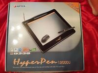 Aiptek HyperPen 12000U Graphical Tablet - NEW AND UNUSED