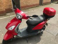 Piaggio Fly 125cc (scooter/moped)