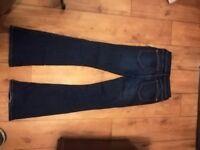 River island boot cut jeans