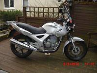 HONDA CBF 250-6 MOTORCYCLE