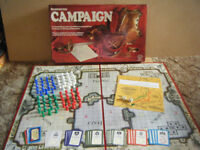 Waddingtons (CAMPAIGN) Napoleonic Wars strategy board game from 1974. Complete.