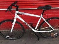 Scott hybrid bike ride mint