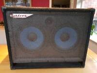 Ashdown 2x12 bass cabinet