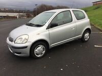 Toyota Yaris Low Mileage 51,000