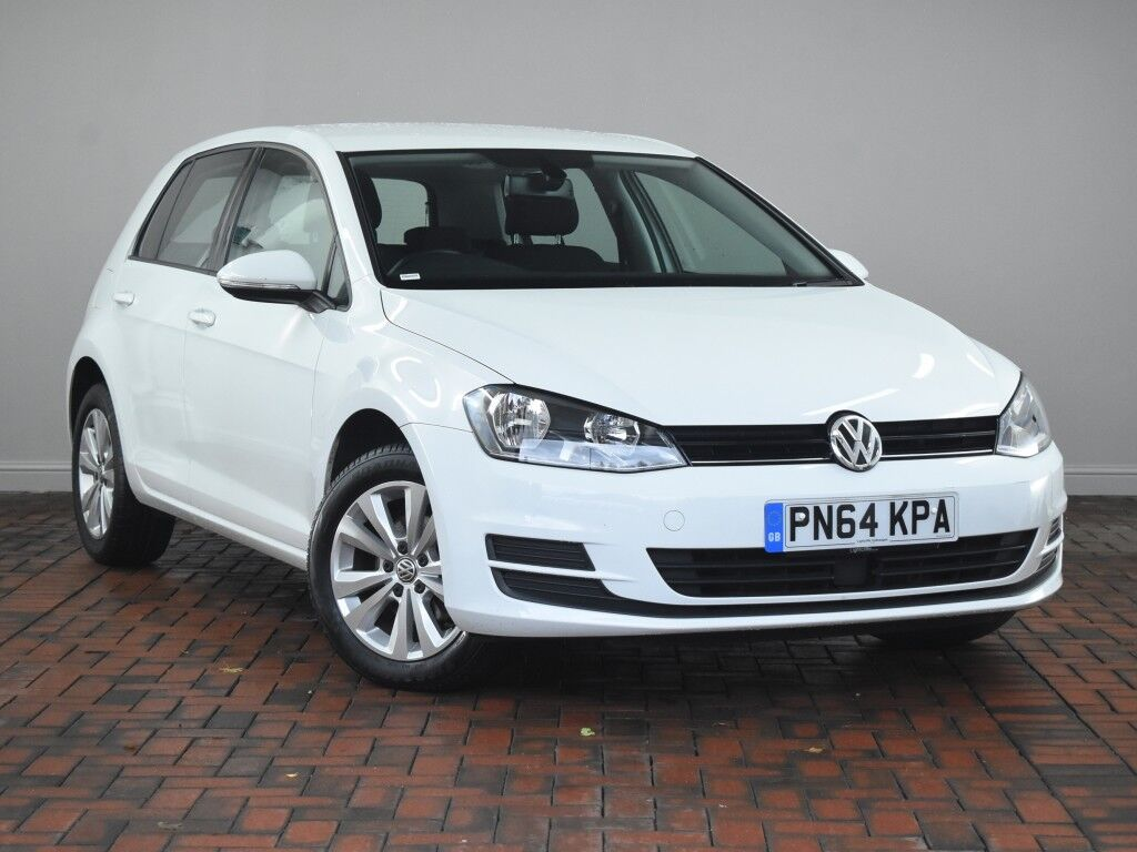 volkswagen golf 1 6 tdi 105 se 5dr white 2014 in winsford cheshire gumtree. Black Bedroom Furniture Sets. Home Design Ideas
