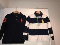Ralph Lauren Polo Rugby tops Age 4