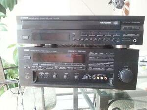 yamaha home theatre amp and cd player