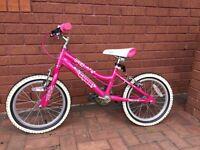 """16"""" Blox Cuda aluminium bike - girls"""