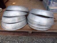 Aluminium plate stackers (used)