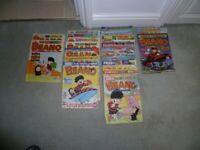 190 Vintage Beano Comics - sold as job lot