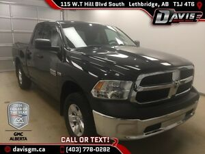 Used 2014 Ram 1500 4WD Quad Cab ST-2WD/4WD option, Front bench S