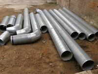 Steel Spiral Ducting 250mm/10""