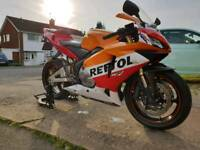 Honda cbr600rr huge spec like r6 gsxr600 etc
