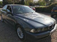 BMW 520I SE 2171cc Petrol Automatic 4 door saloon 51 Plate 13/09/2001 Grey