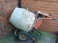 Electric Half Bag Cement Mixer..
