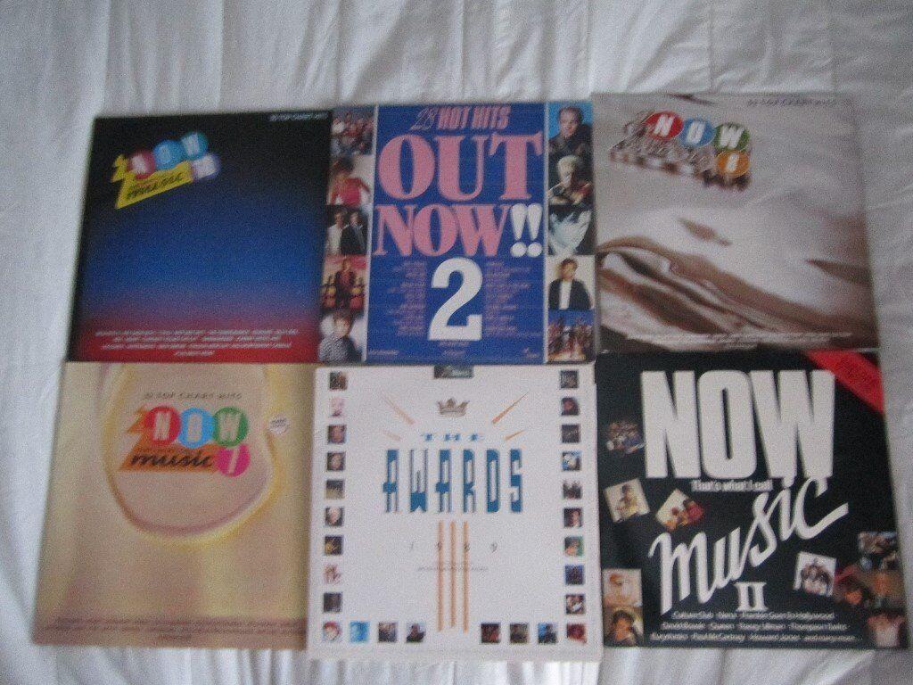 six vinyl lp record