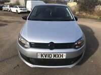 Volkswagen Polo 1.2 Petrol S(a/c) 5dr silver.