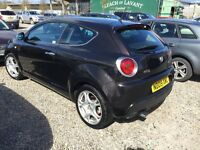 Alfa Romeo Mito 1.4 Petrol, runs and handles brilliant.