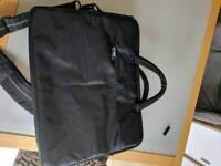 Shoulder strap laptop bag