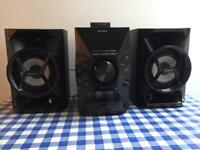 Sony Music System - 3piece - Black