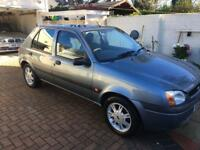 Ford Fiesta 1.3 flight met silver all Service history by ford part X to clear