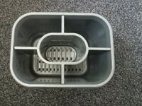 Plastic Sink Tidy Cutlery Drainer