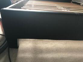 Double bed with mattres 1 year old