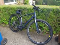 Giant Toughroad 2 SLR Hybrid mountain bike in great condition only 5 Miles use