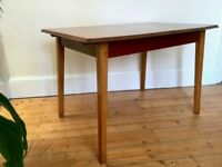 Mid Century Dining Table by McIntosh Extending Table