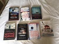 7 x fiction books