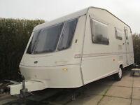 1998 Crown Sovereign 4 berth touring caravan ready to go