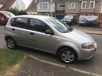 Chevrolet Kalos silver 2006 small reliable cheap car low mileage with 1 year MOT (March)