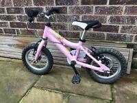 "Central/ West London - Kids Bike cycle Ridgeback Minny Pink - 12"" Wheels"