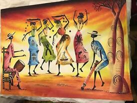 Painting from Madagascar - original