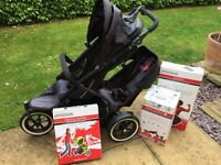 Phil and Teds Double Buggy in very good condition