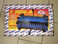 12 Inch Dovetail Jig, Screw Fix, New Has Been In Storage, Damaged Packaging.