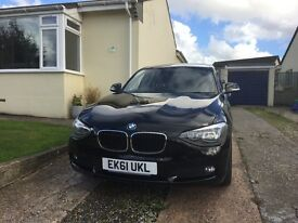 BMW 1 series 116d Efficient Dynamic 2ltr SAT NAV, PARKING SENS