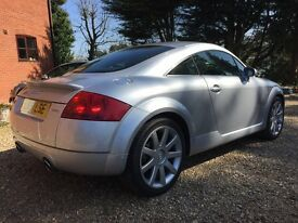 Audi TT 225 BAM Engined, Heated leather seats and recent cambelt change under 100,000 miles!